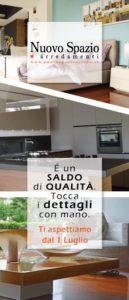 """Campagna pubblicitaria per """"Nuovo Spazio Arredamenti"""" - Luglio 2014"""